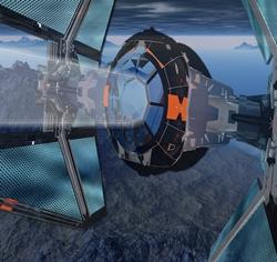 Spaceship Tie Interceptor Star Wars Flight Glider